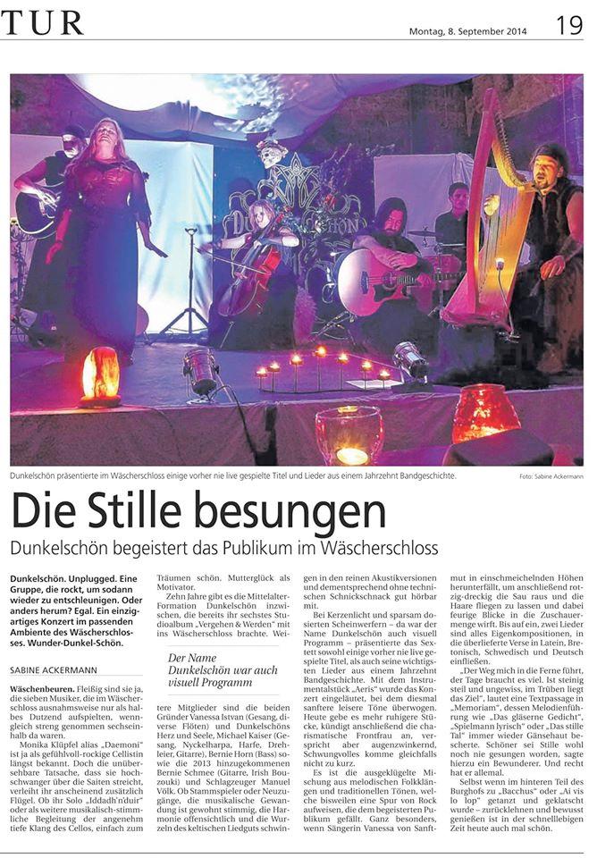 Zeitungsartikel Wäscherschloss_1